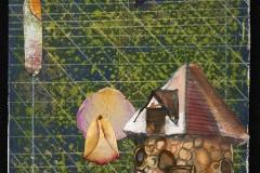 dguntherbrown__Guarding the Owls Nest__mixed mediums_12x8