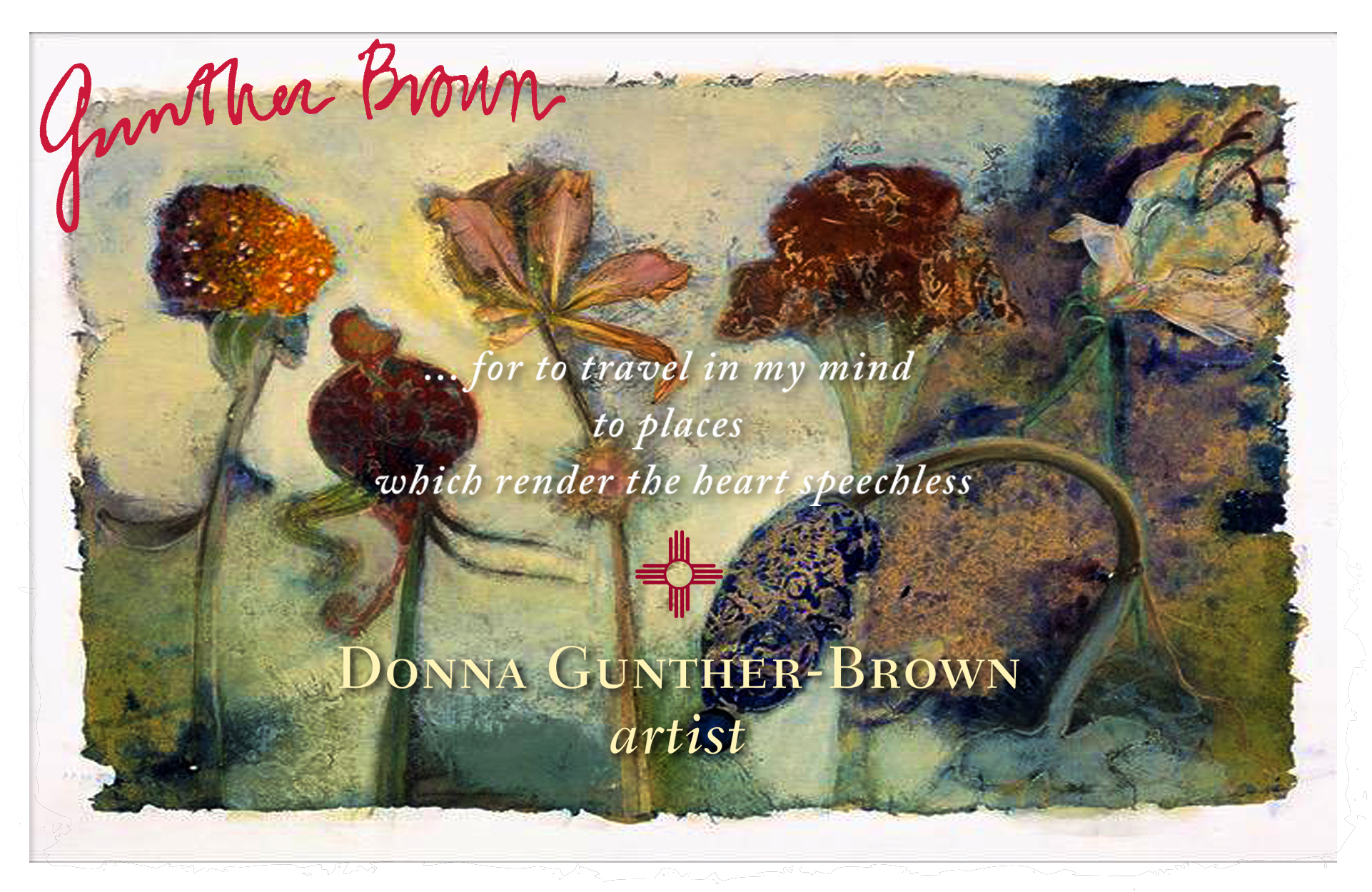 Donna Gunther-Brown, artist